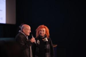 Voleker Schlondorff  con Emanuela Martini
