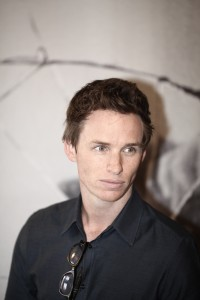 Eddie Redmayne in conferenza stampa