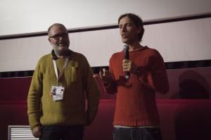 """Il regista di """"Rada"""" Alessandro Abba Legnazzi con Davide Oberto"""