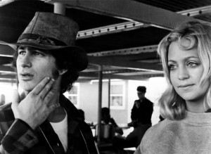 Steve Spielberg e Goldie Hawn sul set