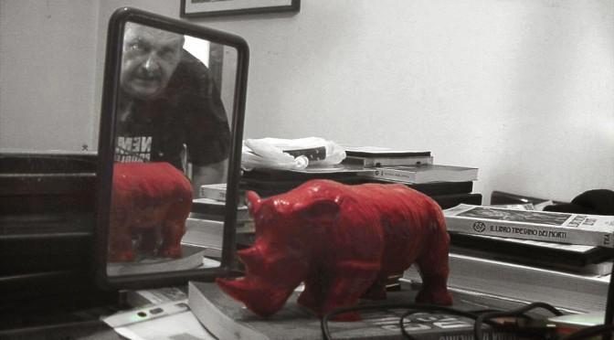 """""""Walking With Red Rhino – A spasso con Alberto Signetto"""" di Marilena Moretti"""