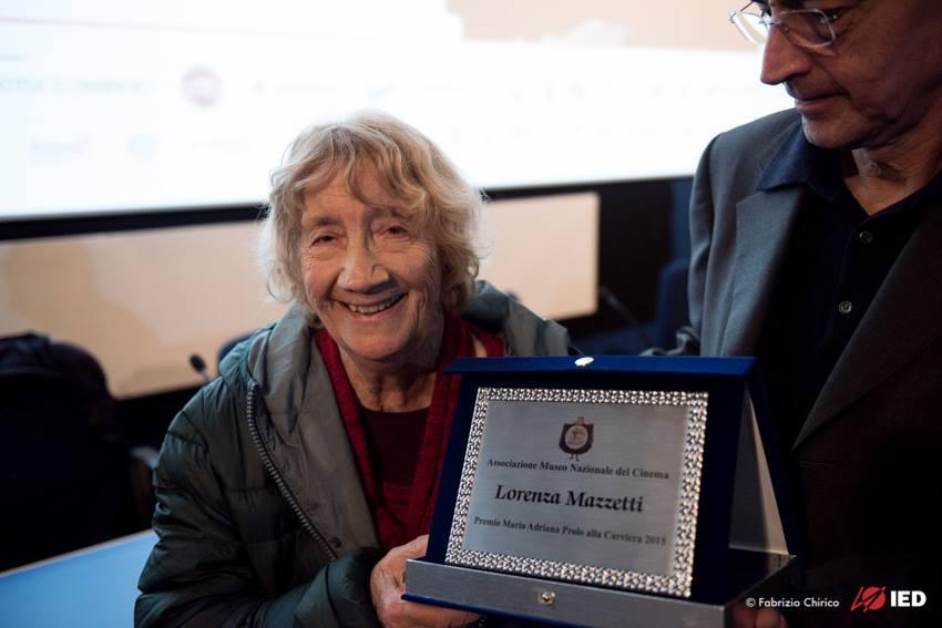 Mazzetti premiata al TFF33