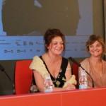 Segre in conferenza stampa presenta Morituri con le attrici
