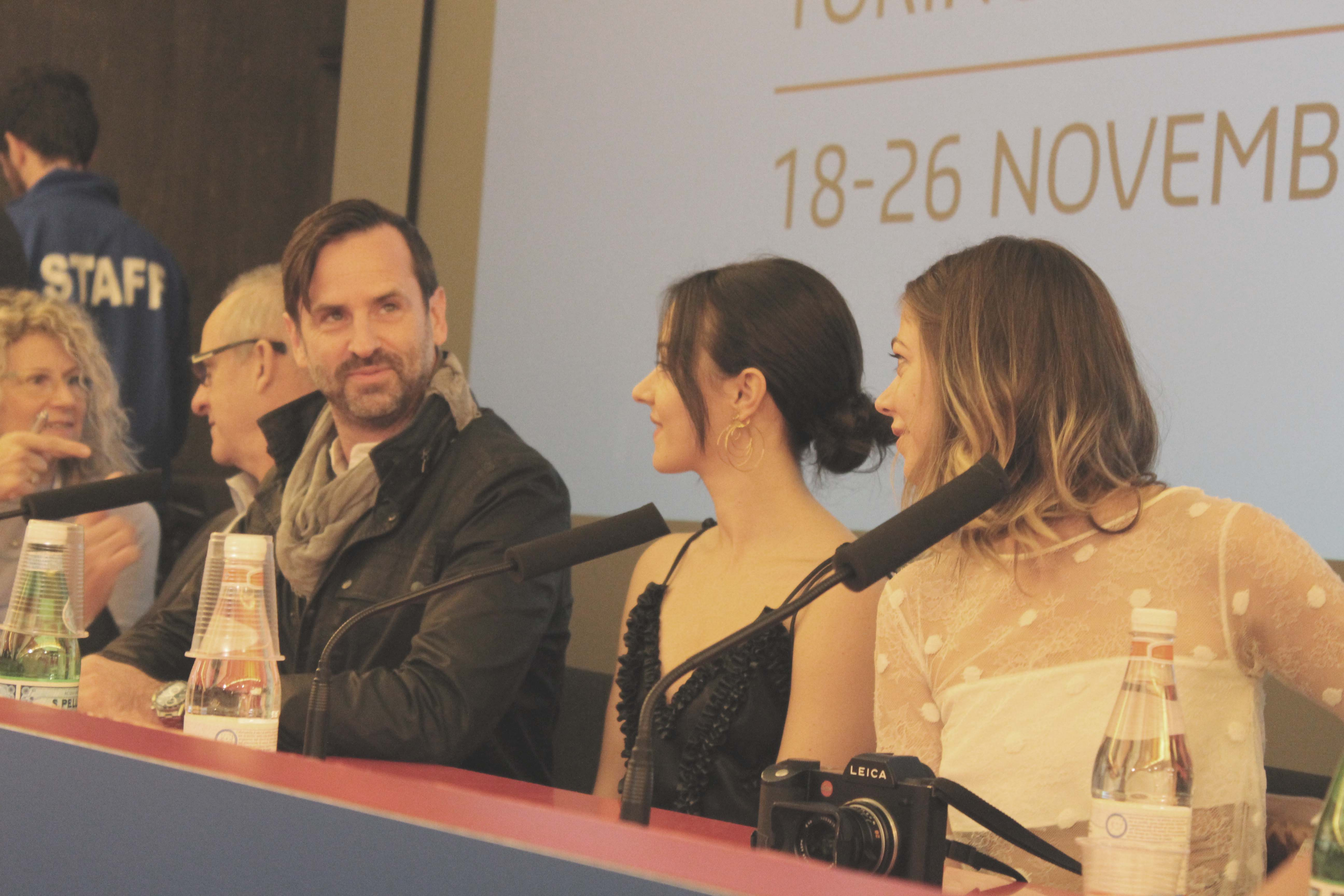 Craig Goodwill, Marta Gastini, Analeigh Tipton, Press conference del film Sadie