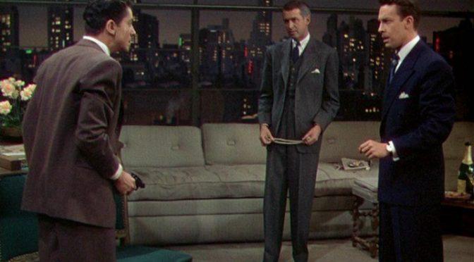 """""""Nodo alla gola"""" (""""Rope"""") di Alfred Hitchcock"""