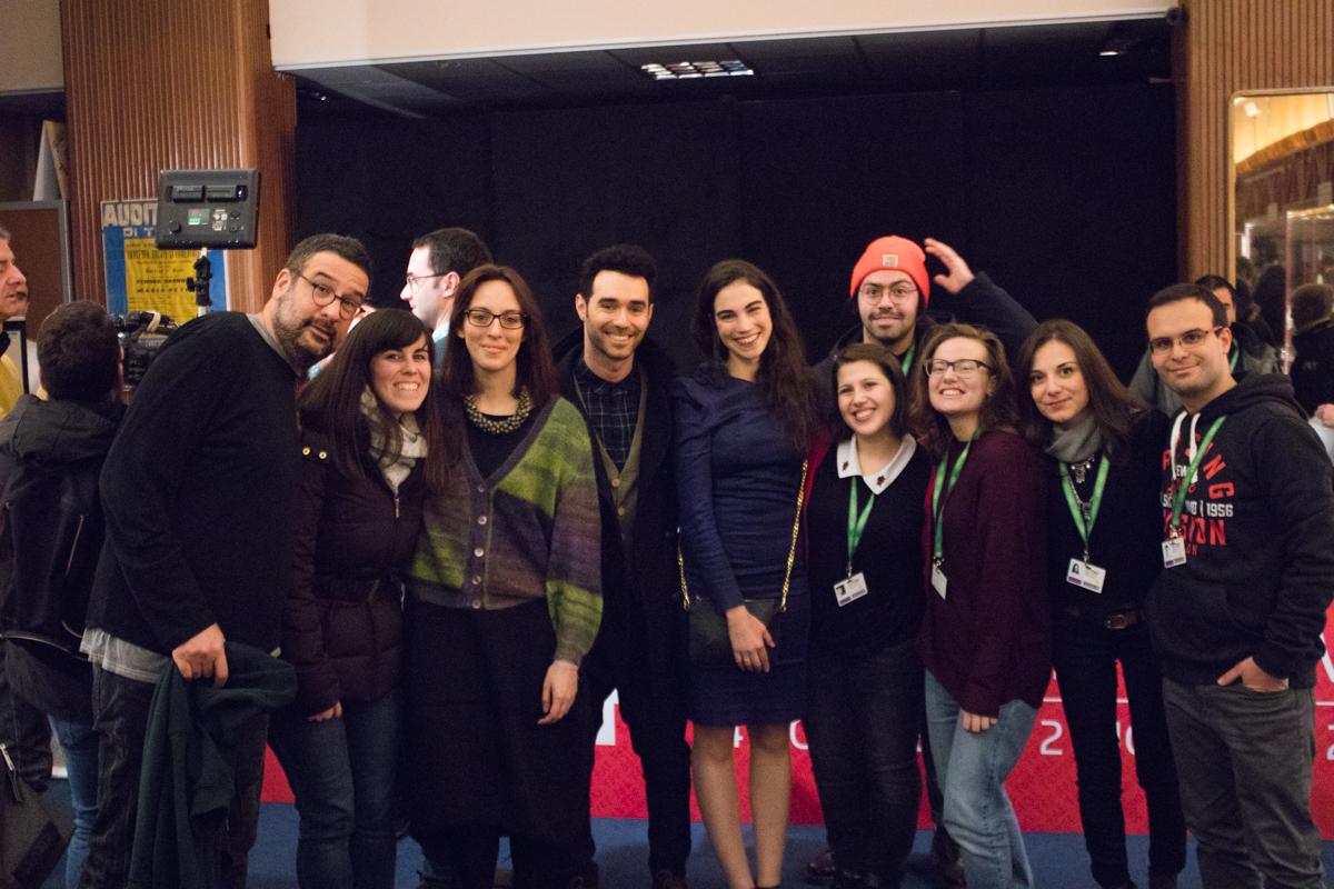Foto con il cast di Don't Forget Me TFF35